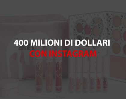 kelie jenner business cosmetic da 400 milioni