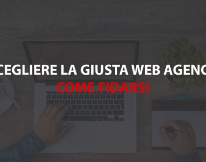 scelta della web agency