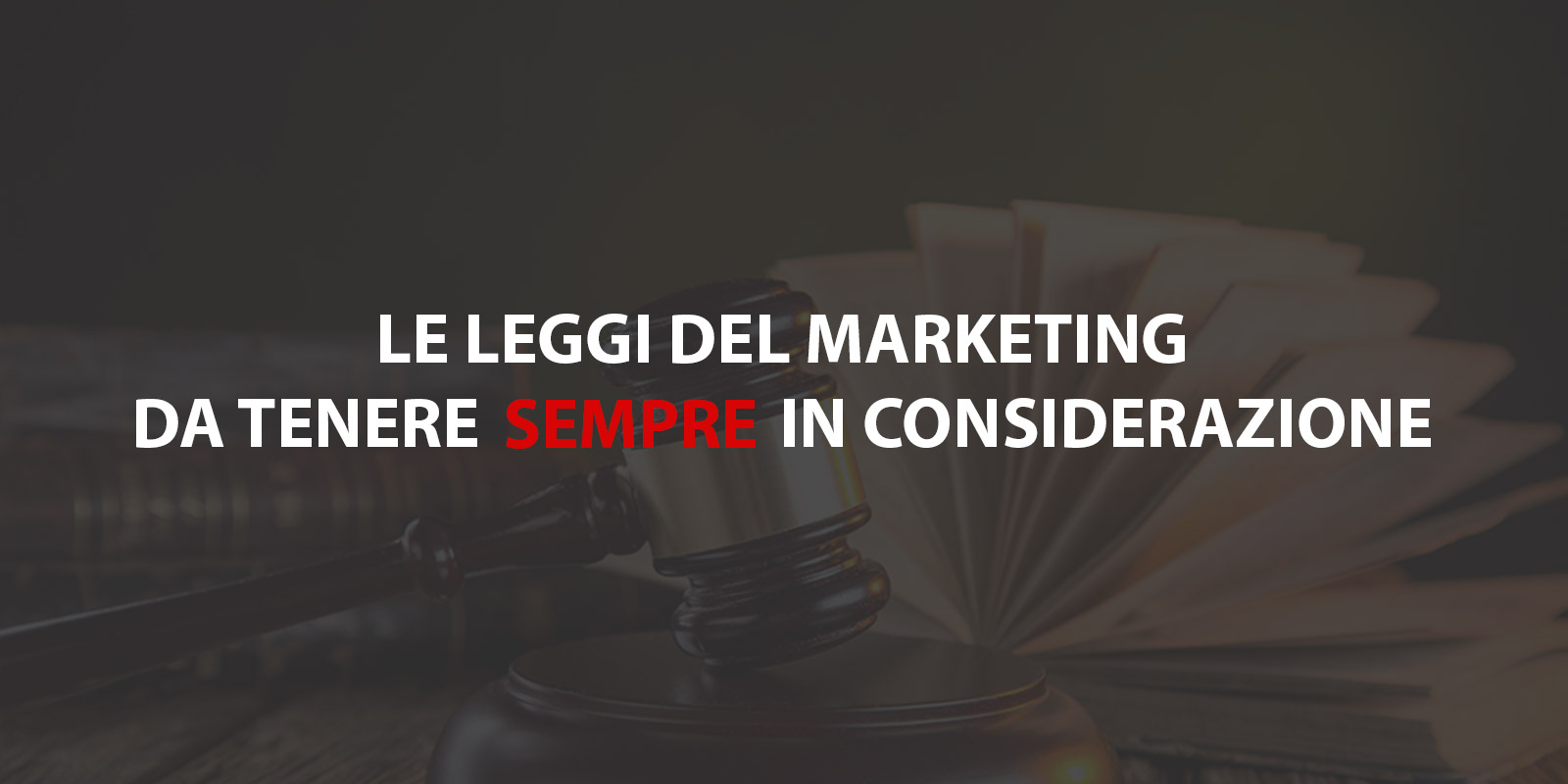 leggi fondamentali del marketing